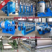 Recycled paper making machine