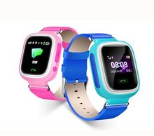 2017 New Children Kids Smart watch Q80 Dual Sim GPS Smart Watch Mobile Phone Prices in Dubai