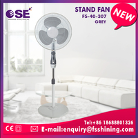 Alibaba summer cooling 16 inches floor installationl stand fan