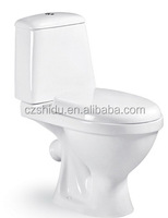 Chinese factory price of wash down two piece toilet bowl