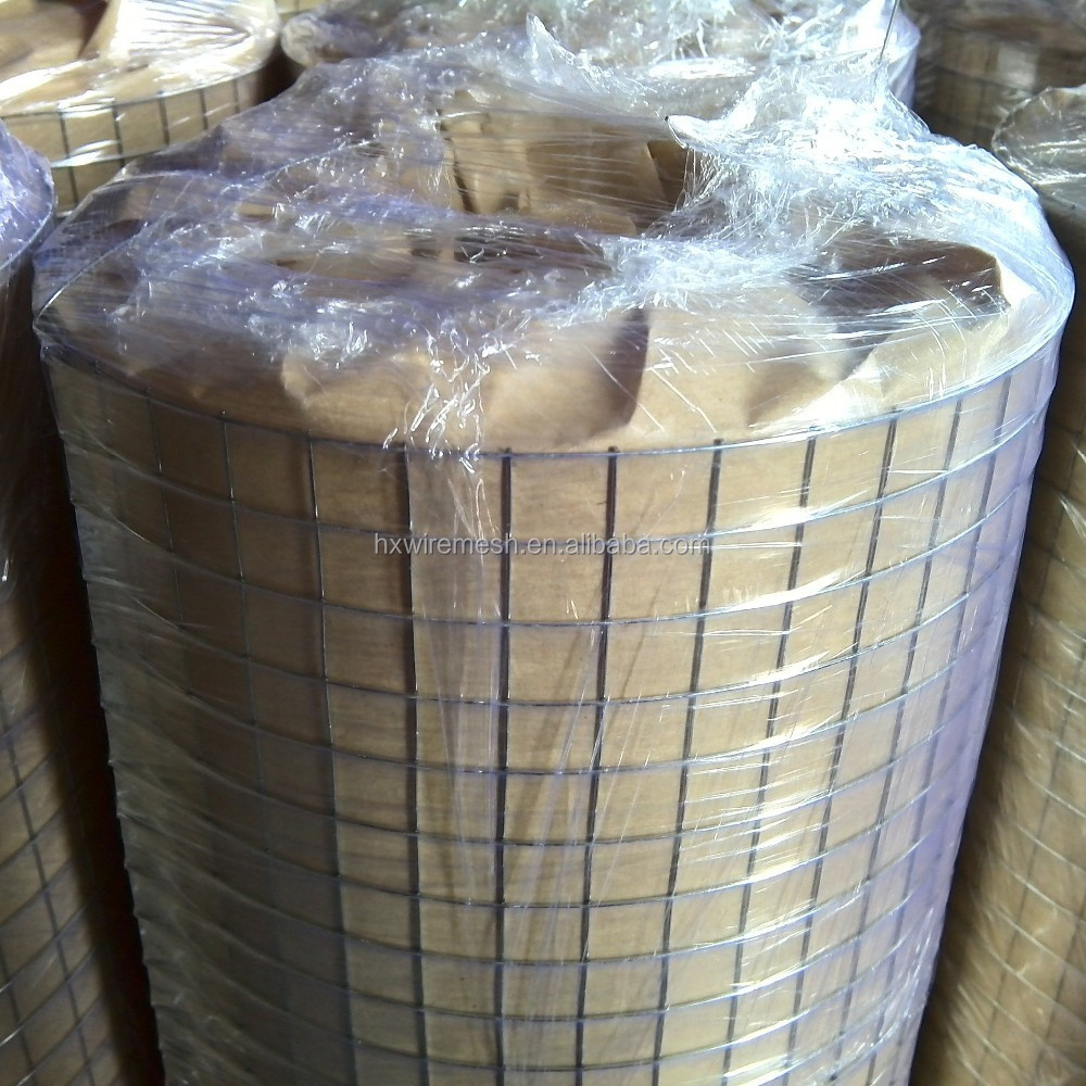 "Hot Dipped Galvanized Welded Wire Mesh, 1/2"" Mesh Hole, 18,20 & 22 Gauge Wire , 48 Inch Tall x 50 Feet Long"
