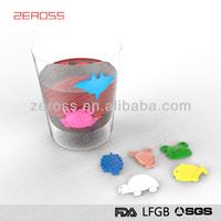 wine glass clip,eco-friendly glass marker,wine company sucker cup