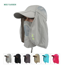 AA wholesale anti-UV sunscreen outdoor sun protection <strong>hat</strong> with neck cover