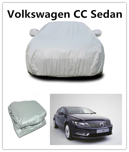 Hot Sell Auto Parts Snow proof Car Parking PEVA And PP Cotton Car Cover For Volkswagen CC sedan
