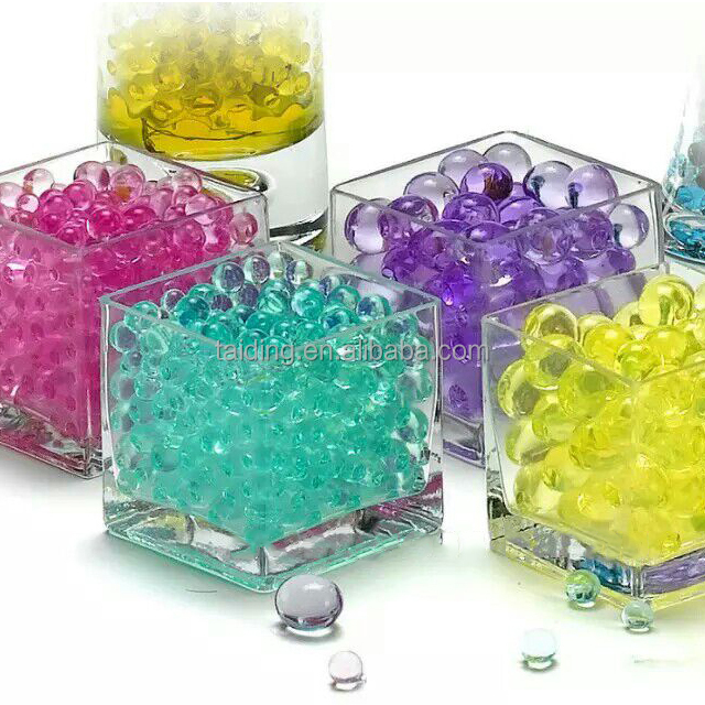 Sea Stars bargain price soiless culture colorful water beads for decorative water beads for candles