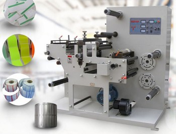 wrist strap print label rotary die cutting Machine