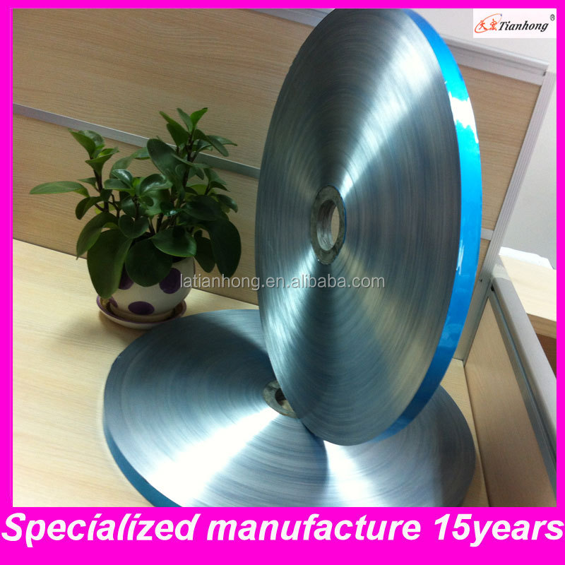 blue thin aluminum polyester tape for electrical wire/cable insulation