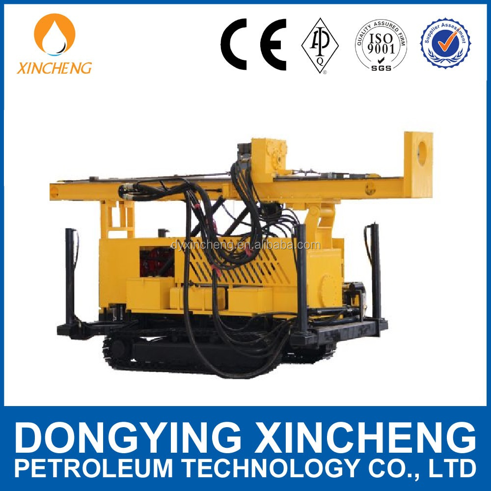 crawler mounted Multifunctional portable water well drilling rigs