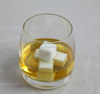 Whisky Ice Stones Drinks Cooler Cubes Whiskey Scotch on Rock Ceramic