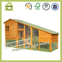 SDR19 Large wooden rabbit house designs with Run factory price for sale