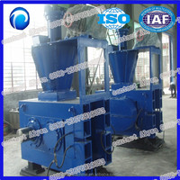 high efficent dry powder lignite powder ball press machine 0086-13676919053)