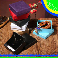 Hot Sale Colorful Mini Jewelry Gift Paper Box Necklace Paper Gift Box