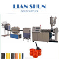Manufacturer for carbon spiral reinforced tube extrusion production line