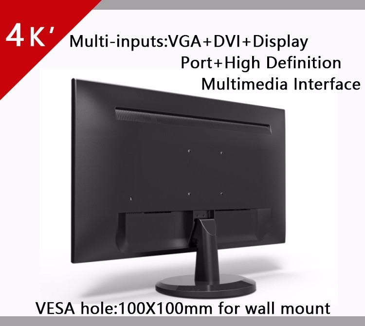 "QHD 4K 28"" LED Monitor for gaming"