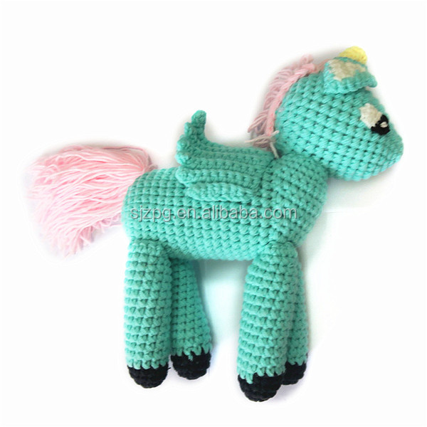 Plush Crochet Stuffed Unicorn toys