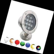 Factory new design IP68 <strong>RGB</strong> 12v underwater waterproof led light 12W/24W/26W for swimming pool