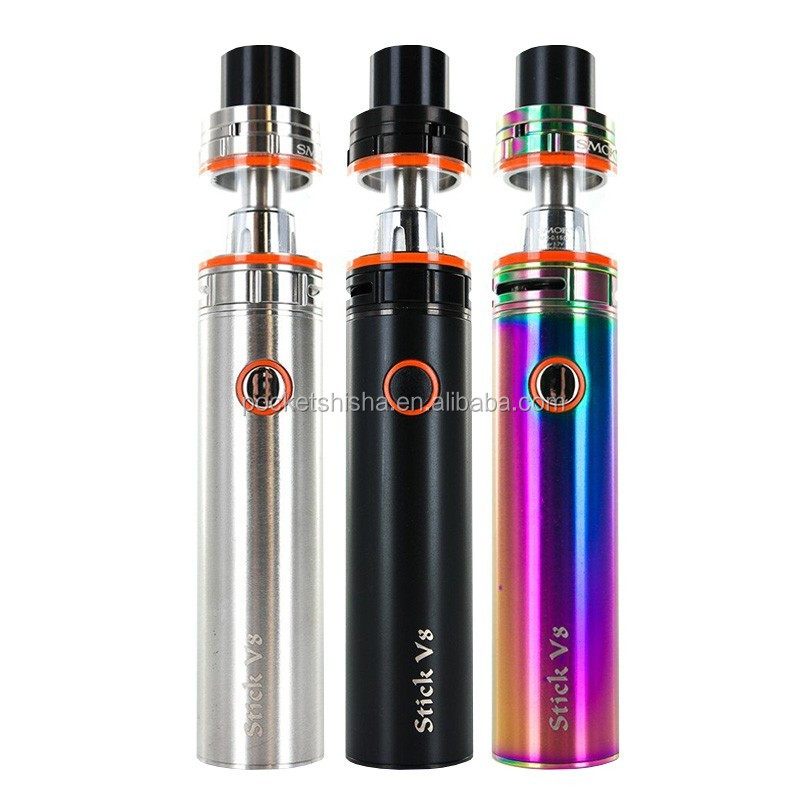Stock Offer SMOK Stick V8 Kit Wholesale Quantity VS SMOK Vape Pen 22 vape pen packaging