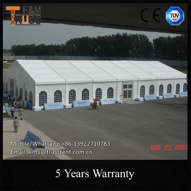 Zhejiang Elegant peg and pole tents cover double Waterproof PVC fabric sale in south africa