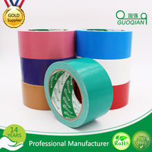 Supply Custom Cloth Duct Tape for Carton Sealing or Pipe Wrapping pack of 6pcs