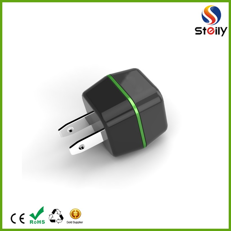 mobile phone usb charger with usb flat plug usb wall charger portable travel charger