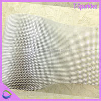Fancy Crystal Rhinestone Mesh Roll Trims For Wedding Cake Decorations