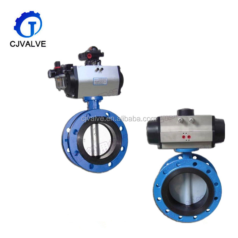 API stainless steel pneumatic control butterfly check valve