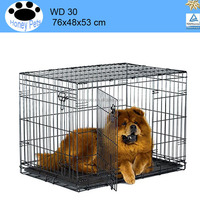 Dog Crate Kennel wire dog cage 10x5x6 ft classic galvanized outdoor dog kennel
