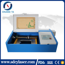mini 40w small power pcb stencil laser cutter high quality co2 laser engraving cutting machine