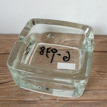 custom printed Factory outlets custom glass cigarette ashtray