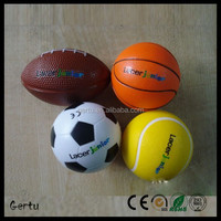Promotional foam sport stress balls for adults