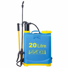 LARGE 20 LITRE 20L GARDEN BACKPACK PRESSURE SPRAYER KNAPSACK WEED CHEMICAL pressure sprayer