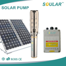 2016 reputed big power solar pump water supply
