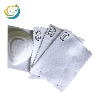 Reliable manufacturer supplier disposable respirator cup shape mask used molding and shape nonwoven material needle punch fabric