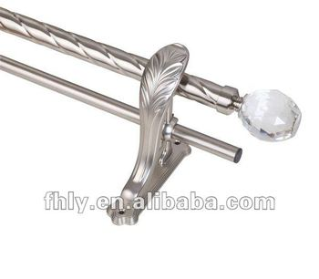Curtains Ideas curtain rod crystal finials : Crystal Finials Curtain Rod Set, View Crystal Finials Curtain Rod ...