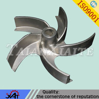 wear resistant alloy steel material, resin sand casting impeller