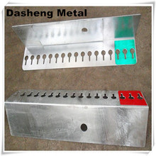 Hot dip galvanized metal angle brackets
