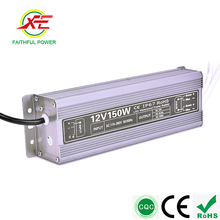 Manufacturer Waterproof Electronic Led Driver 12v 24v 150W Triac Dimmable Power Supply CE RoHS IP67