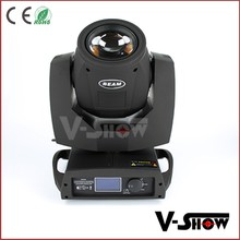 2016 new arrival LED moving head beam light stage led 5R beam 200 moving head DJ light / moving head 5R for Disco party