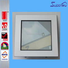 Modern house aluminium chain winder awning window /mill finish silver color aluminum awning windows