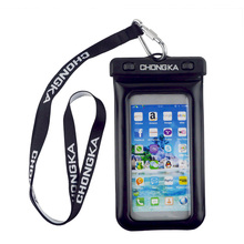 2018 Universal PVC Galaxy belt Waterproof Case With Strap