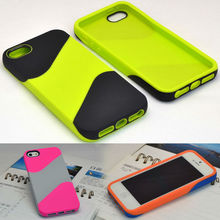 for iphone 5 rugged rubber shockproof case