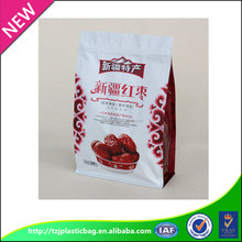 china manufactory 100% PE laminated material high quality snack plastic packaging bag
