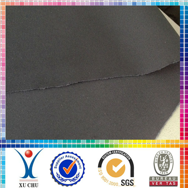 Polyester spandex air layer weft knitted fabric textile