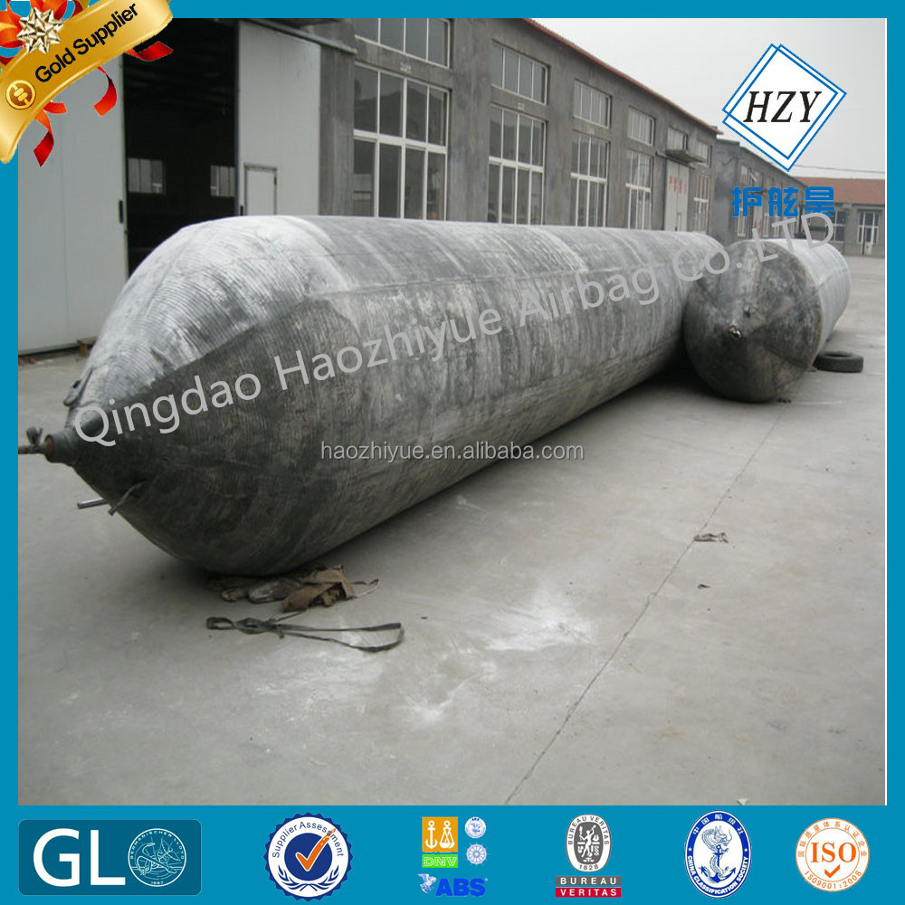 High pressure Marine balloon for vessel landing and launching / boat lifting airbag