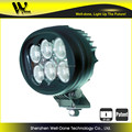 "Factory direct offer Oledone IP68 super bright C ree 6"" oval 60W Car racing LED work light"