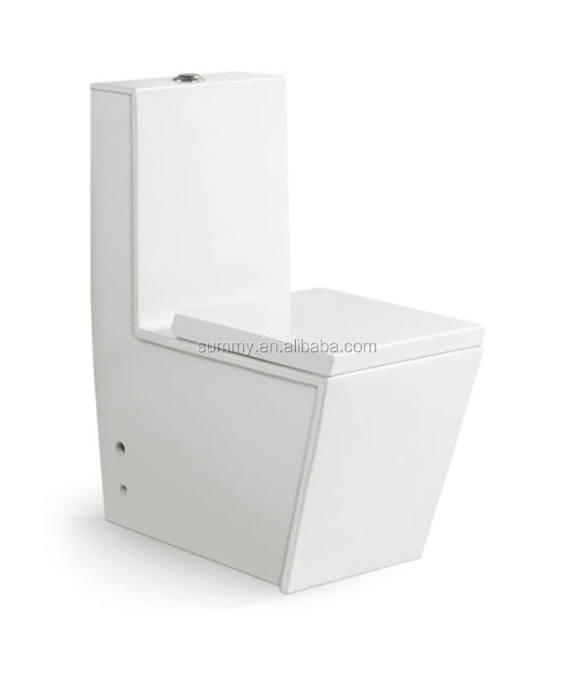 American style cheap one piece siphonic toilet SC139