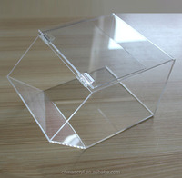 best price clear acrylic favor box for candy