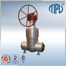 High Pressure Gear Box Big Size Cast Steel Flap Gate Valve Price