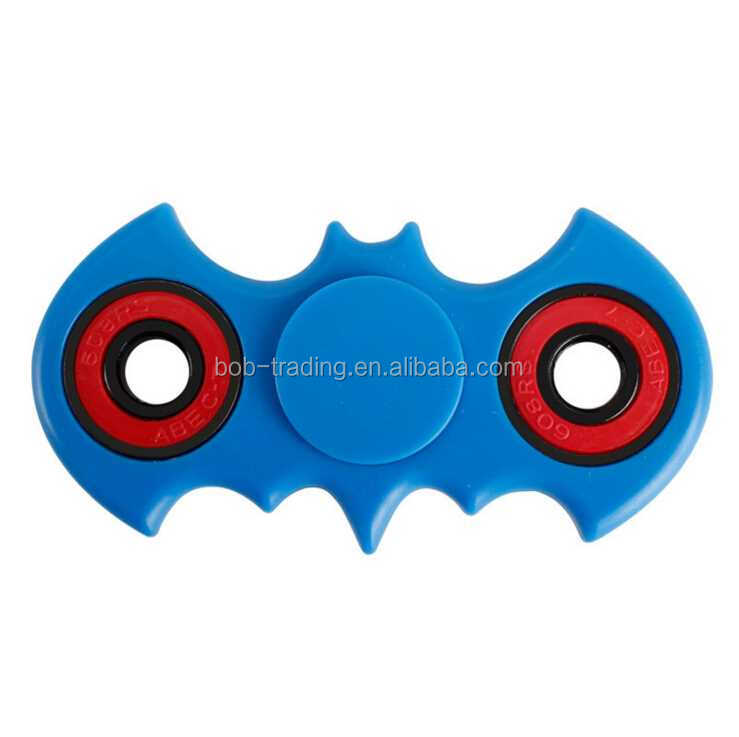china factory Promotion Gift Bat Shape Hand Spinner copper/staniless steel/aluminium fidget spinner