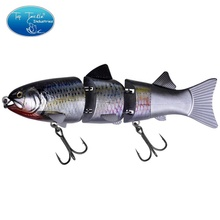 CF Lure 215mm 155g ABS 3 jointed hard swim <strong>bait</strong> 8inch slow sinking hard <strong>fishing</strong> lure